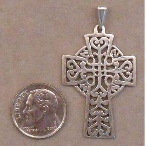 Jewelry - CELTIC CROSS sterling silver pendant SJ934-09